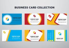 Business Card Set vektor