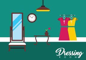 Kostenloses Dressing Room Vector