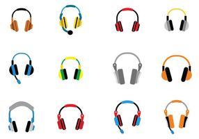 Audio Head Phone Vector ikon