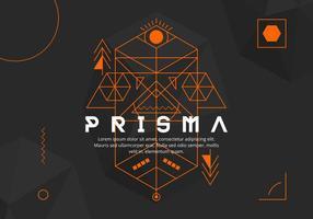 Prisma bakgrund vektor