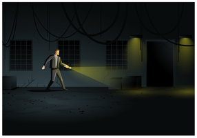 Kostenlose Illustration Horror Spiel Vector