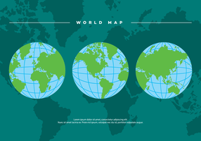 Globe Vector Bakgrund