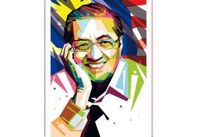 Tun Mahathir Vektor