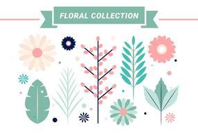 Freie Frühlings-Blumen-Vektor-Design vektor