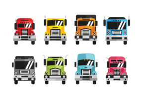 Camion Icons Vektor