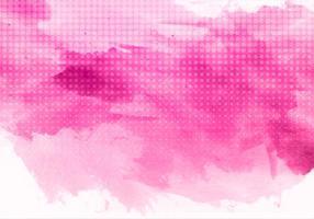 Free Vector Rosa Aquarell-Hintergrund