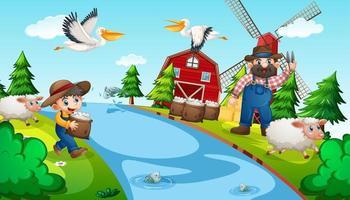 Farm Kinderreim Szene