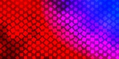 blauer und roter Hintergrund im polygonalen Stil.