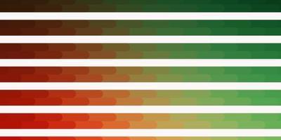 grünes und rotes Muster mit Linien