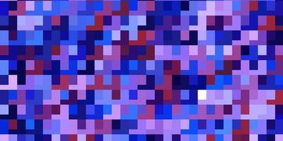 blaue, rote und lila Textur im rechteckigen Stil.
