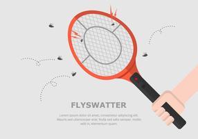 Fliegenklatsche Hintergrund
