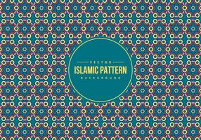 Islamisk stil mönster bakgrund