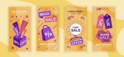 Mega Sale Social Media Geschichten