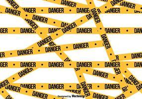 Vector Gefahr Band nahtloses Muster