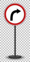 röd cirkulär trafik skylt vektor
