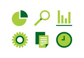 Green Business Icon vektor