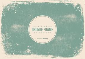 Grunge Frame Bakgrund