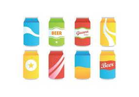 Softdrink vector pack