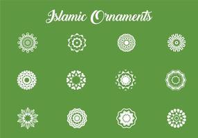 Olika islamiska Ornament