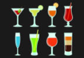 Vektorer glas Spritz