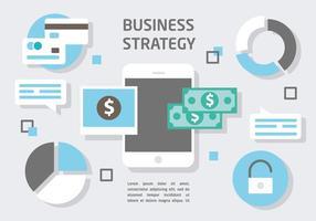 Freie Wohnung Digital Marketing Vector Illustration