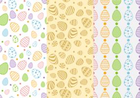 Påsk mönster bakgrund vektor