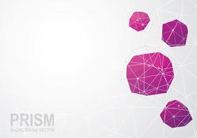 Prisma Hintergrund Vektor