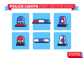 Polizei Lichter Free Vector Pack