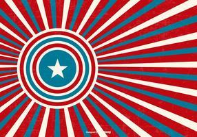 Patriotischer Retro-Stil Hintergrund
