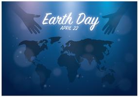 Free Earth Day Bakgrund Vector
