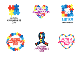 Autismus Awareness Day Vector