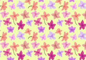 Freie Rhododendron-Muster-Vektoren vektor