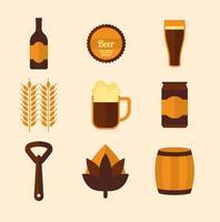 Free Beer-Vektor-Icons