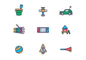 Vector Pack von Kinder-Spielzeug