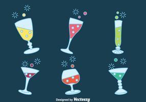 Fizz Dryck Party vektorer