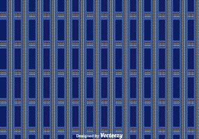 Dark Blue Flanell-Muster-Vektor