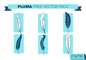 Pluma Free Vector-Pack