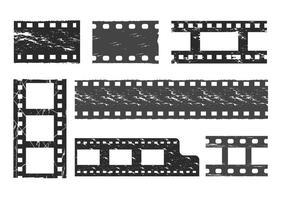 Filmkorn Vektor-Set vektor