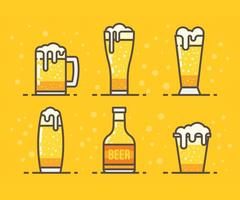 Freie Cerveja Vektor-Icons vektor