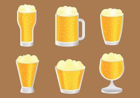 Gratis cerveja Vector ikoner