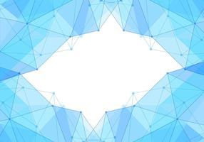 Gratis Vector blå Polygon Bakgrund