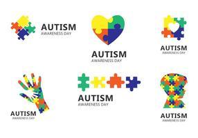 Autism Day Ikon vektor