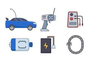 Gratis Enastående radiostyrd bil vektorer
