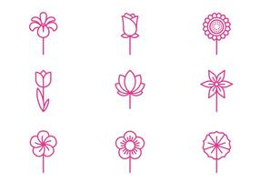 blommor Ikon