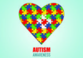Plakat von Autismus