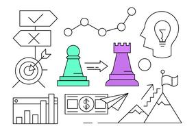 Gratis Vector Elements om Business Growth