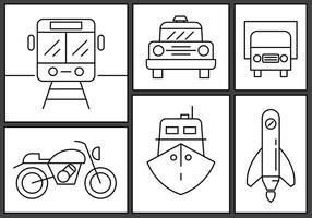 Kostenlose Lineare Transport-Vektoren
