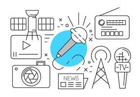 Free Media Icons vektor