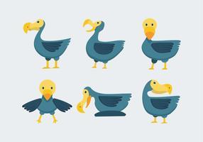 Dodo-Vogel-Vektor-Illustration vektor
