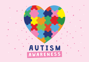 Autismus-Liebe-Plakat